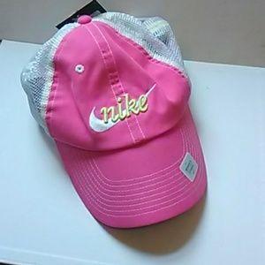 NIKE Womens Pink Mesh Hat-NWT! Cute!